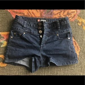 High-Waisted Kid's Shorts